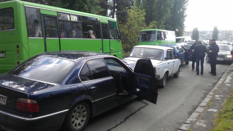 В Ужгороді потрійне ДТП: фото, фото-4