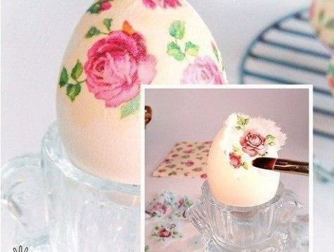 Декупаж пасхальних яєць — індивідуальна неповторність великоднього кошика (фото) - фото 2