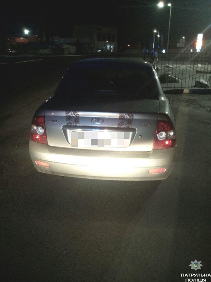Кременчугские копы останавливают водителей за неосвещённый знак и штрафуют за пьянку (ФОТО), фото-2