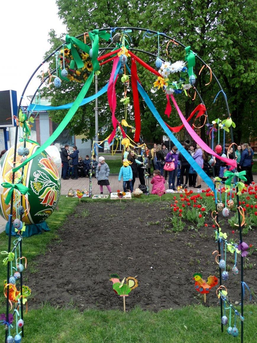 В Сумах открылся «Писанковый сад» (ФОТО) (фото) - фото 1