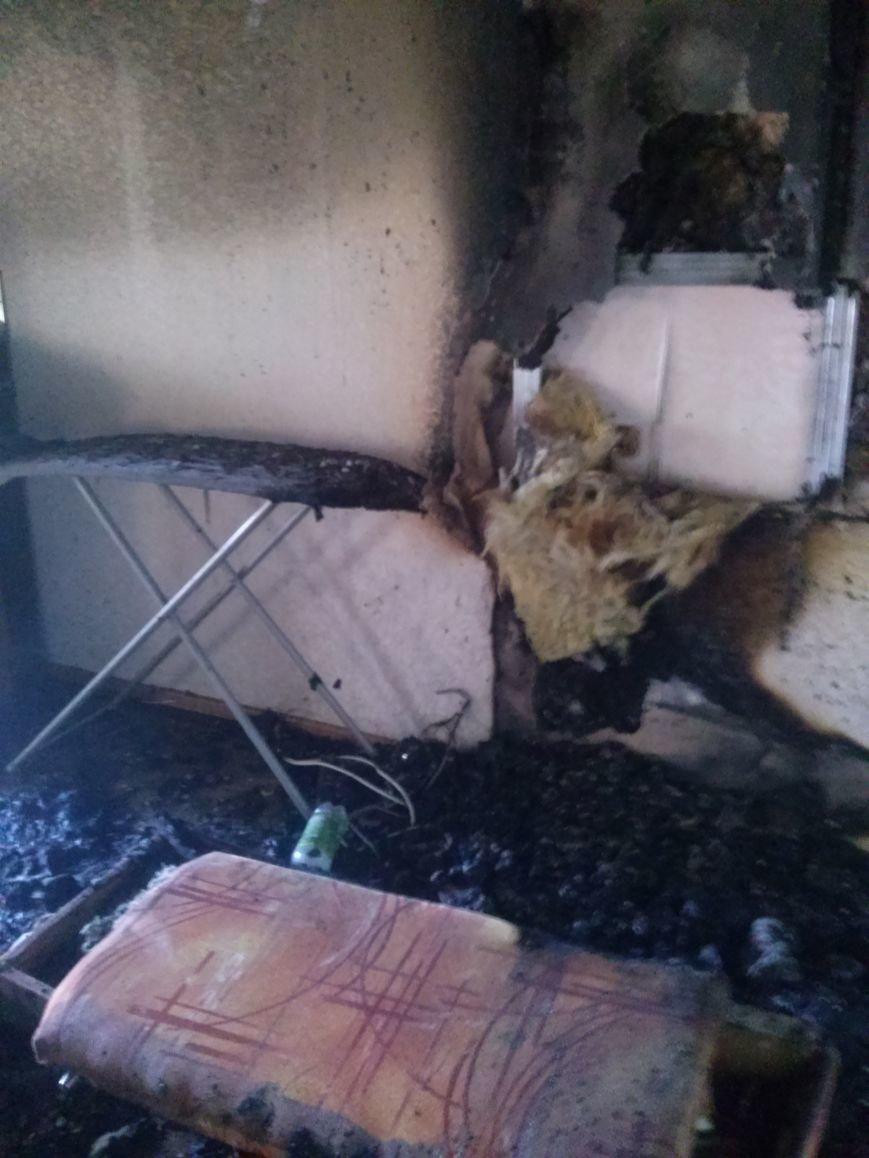 В Днепродзержинске тушили пожар по проспекту Металлургов (фото) - фото 2