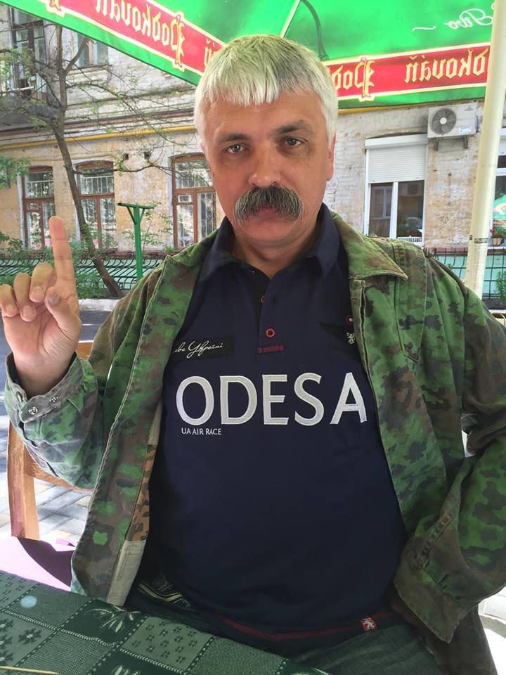 """468fe8f293a6119c85450c51d1d51d70 Лидер """"Братства"""" Корчинский прибыл в Одессу"""