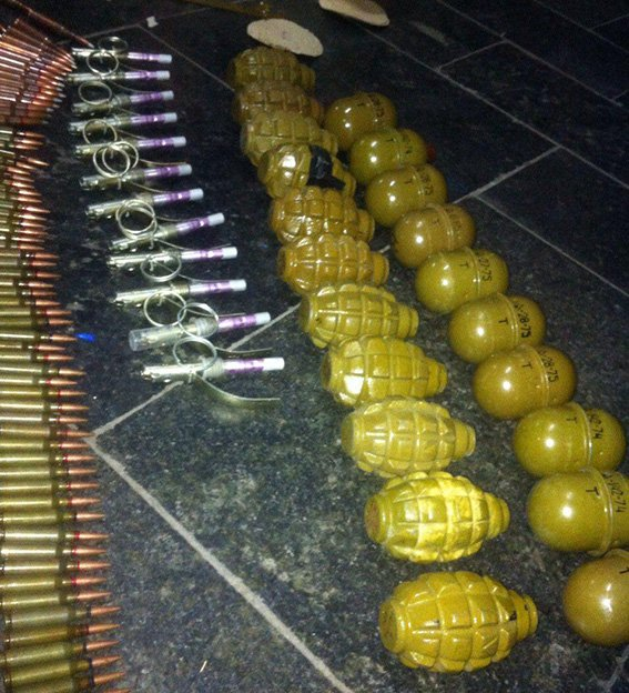 На железнодорожном вокзале Днепропетровска у военного обнаружены гранаты и патроны (ФОТО) (фото) - фото 3