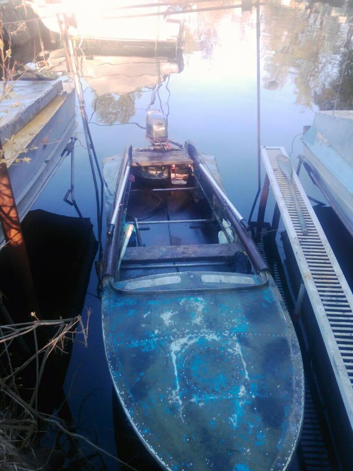 В Днепропетровске сотрудник полиции незаконно ловил рыбу (ФОТО), фото-1