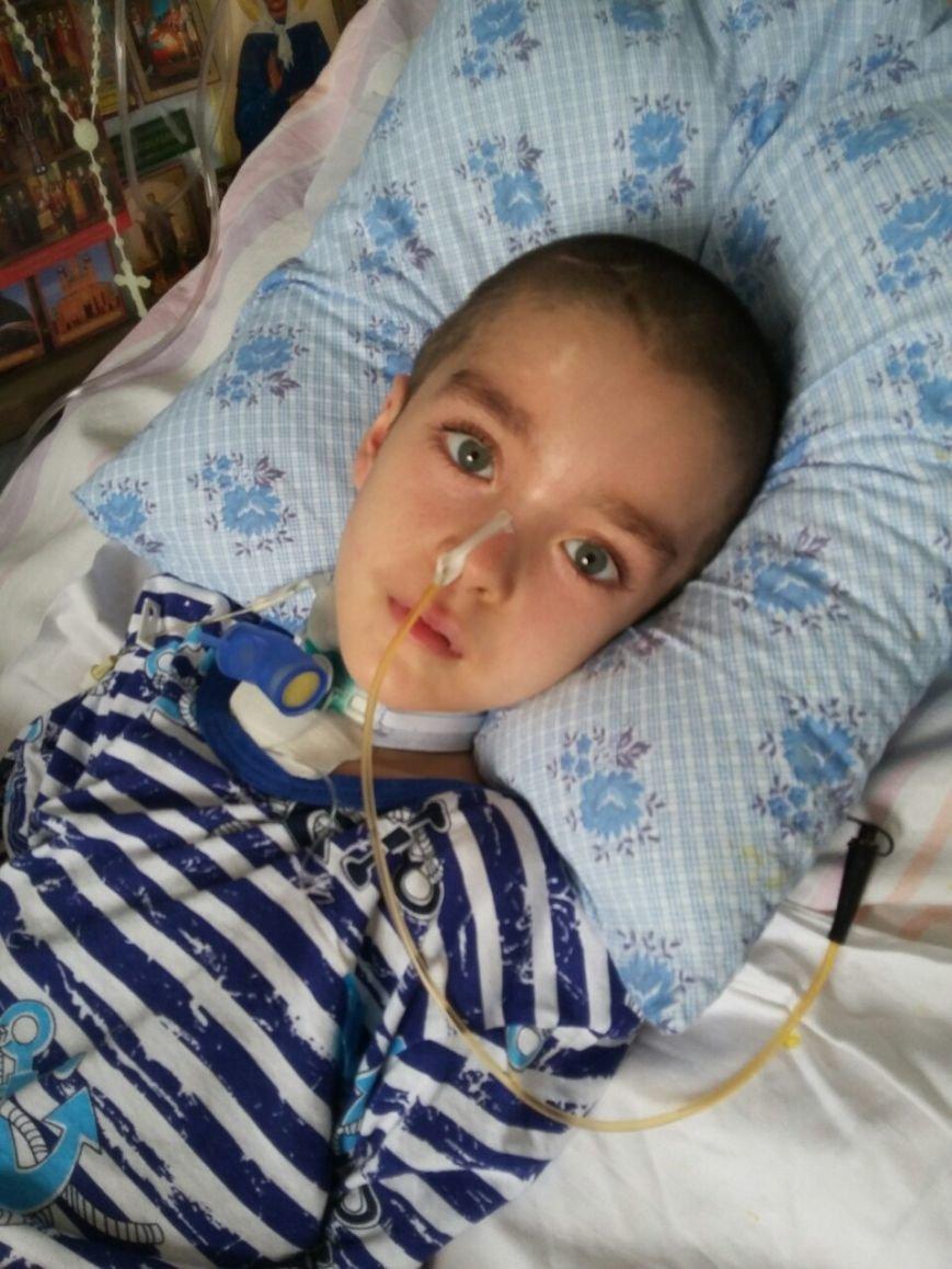 Внимание! Маленькому жителю Днепропетровска срочно нужна помощь!, фото-1