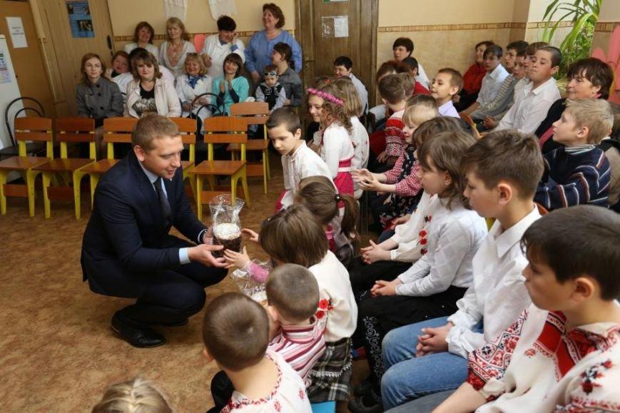 Как мэр Кременчуга воспитанников школ-интернатов с праздником Пасхи поздравлял (ФОТО), фото-3