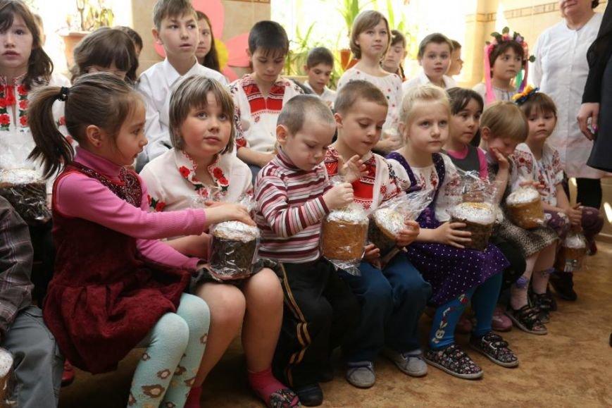 Как мэр Кременчуга воспитанников школ-интернатов с праздником Пасхи поздравлял (ФОТО), фото-4