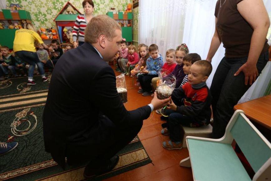 Как мэр Кременчуга воспитанников школ-интернатов с праздником Пасхи поздравлял (ФОТО), фото-8