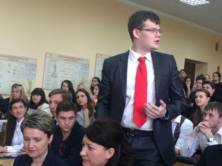 Посол США   в Украине Джефри Пайетт встретился с мариупольскими студентами (ФОТО, ВИДЕО), фото-4