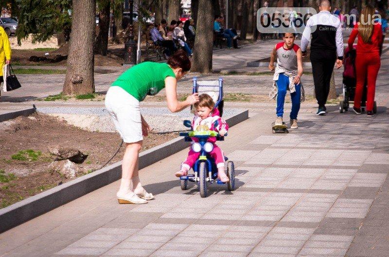 Кременчужане просят мэра защитить их от роллеров, скейтеров и велосипедистов, фото-1