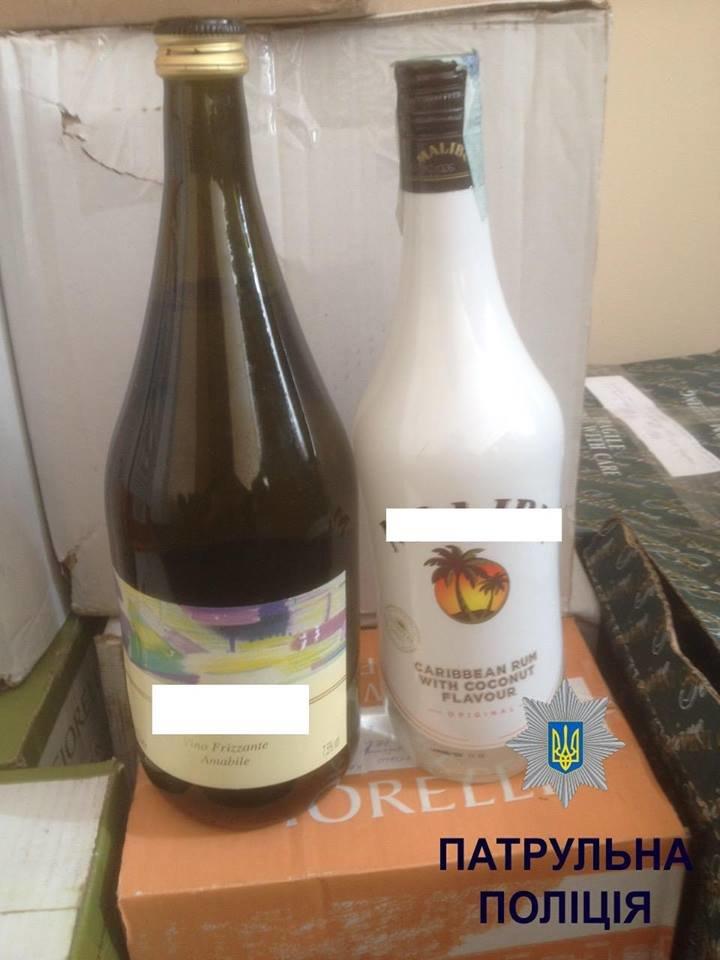 У магазині на Зарічанській продавали алкоголь без ліцензії (Фото), фото-1