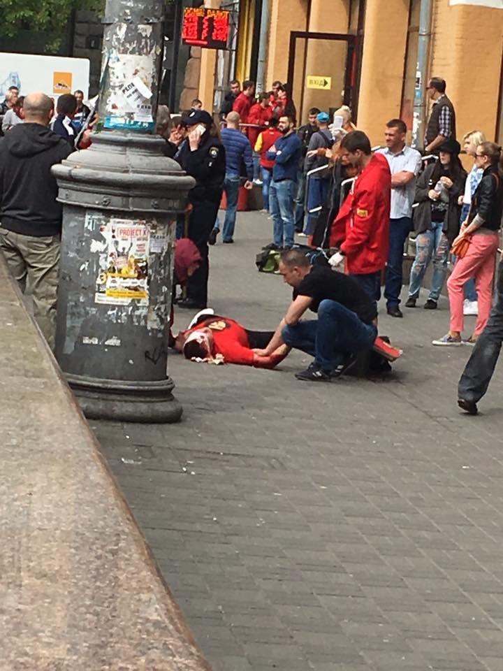 В центре Киева произошла стрельба, мужчина ранен в голову (ФОТО), фото-1