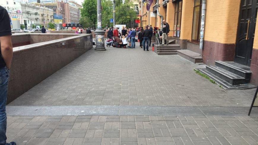 В центре Киева произошла стрельба, мужчина ранен в голову (ФОТО), фото-2