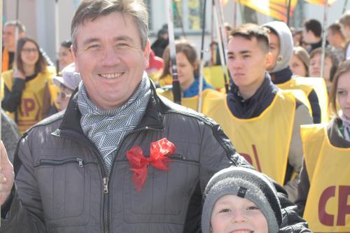 Первомай начал свое торжественное шествие по стране с Южно-Сахалинска, фото-8