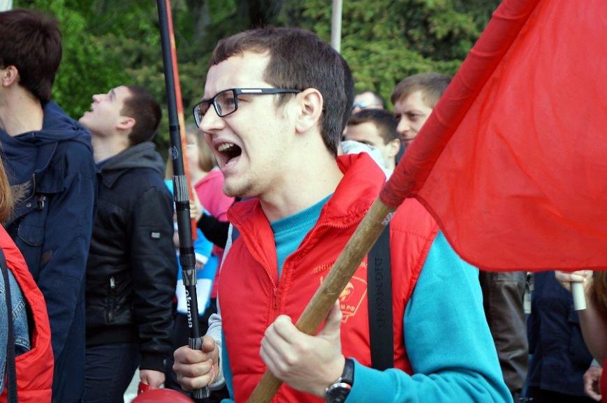 Белгородские коммунисты отпраздновали Первомай демонстрацией, фото-4