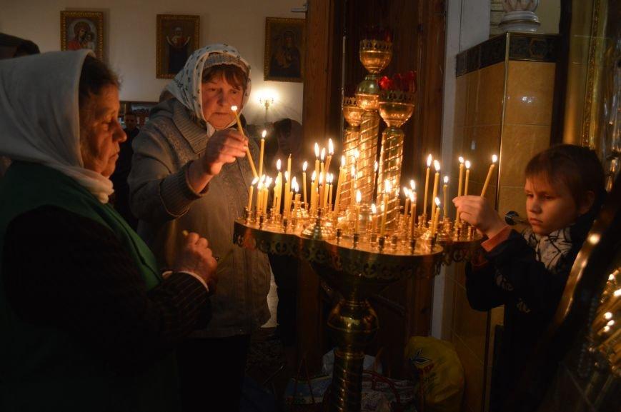 В Северодонецке прошло ночное богослужение в честь Пасхи (ФОТО), фото-3