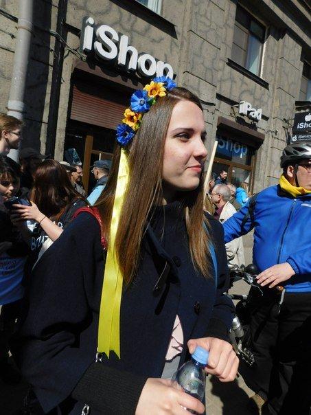 У Петербурзі пройшов мітинг на підтримку України (фото), фото-3