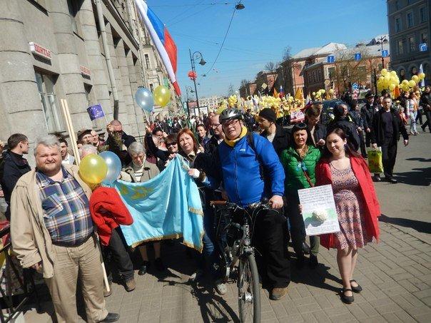 У Петербурзі пройшов мітинг на підтримку України (фото), фото-2