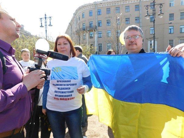 У Петербурзі пройшов мітинг на підтримку України (фото), фото-4