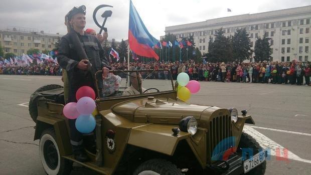 На Пасху в Луганске провели демонстрацию (фото), фото-1