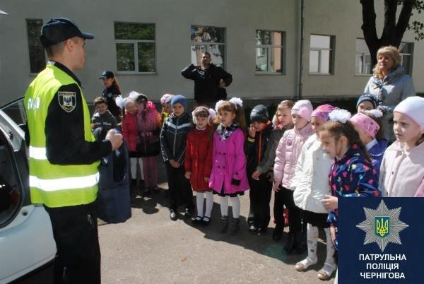 Черниговские патрульные в апреле провели 15 встреч со школьниками, фото-2