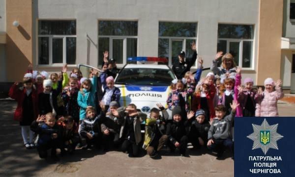 Черниговские патрульные в апреле провели 15 встреч со школьниками, фото-7