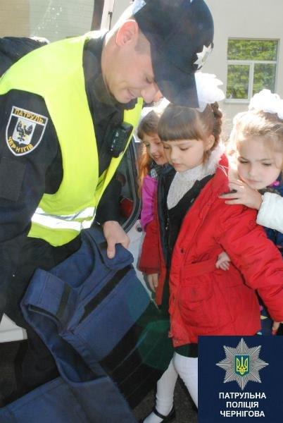 Черниговские патрульные в апреле провели 15 встреч со школьниками, фото-5