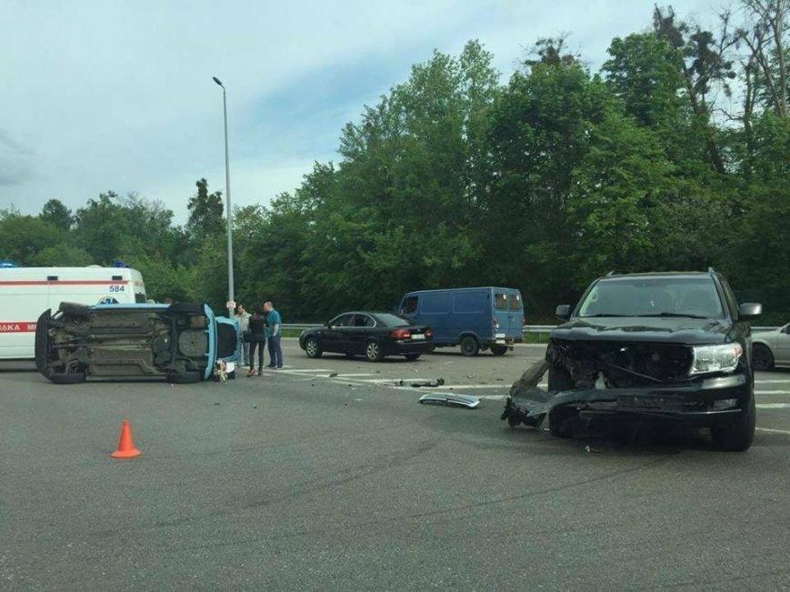 На въезде в Киев в аварии пострадало 6 человек (ФОТО), фото-2