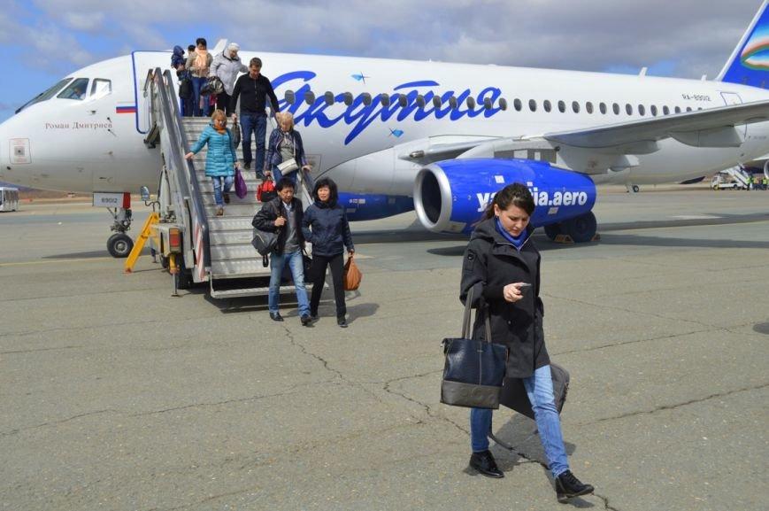 Южно-Сахалинск стал транзитным пунктом авиарейса Якутск-Токио, фото-2