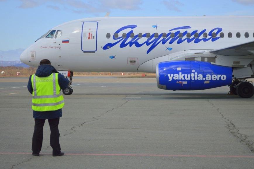 Южно-Сахалинск стал транзитным пунктом авиарейса Якутск-Токио, фото-1
