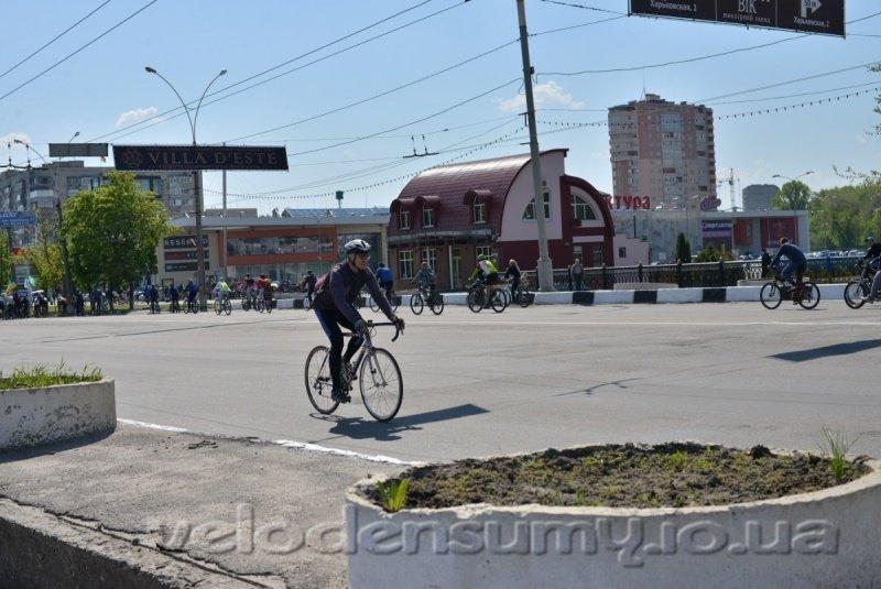 В Сумах состоялся велопробег (ФОТО), фото-4