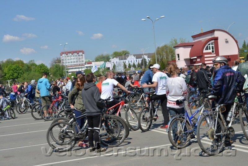 В Сумах состоялся велопробег (ФОТО), фото-3