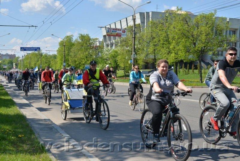 В Сумах состоялся велопробег (ФОТО), фото-9