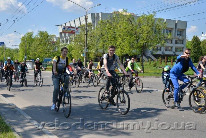 В Сумах состоялся велопробег (ФОТО), фото-11