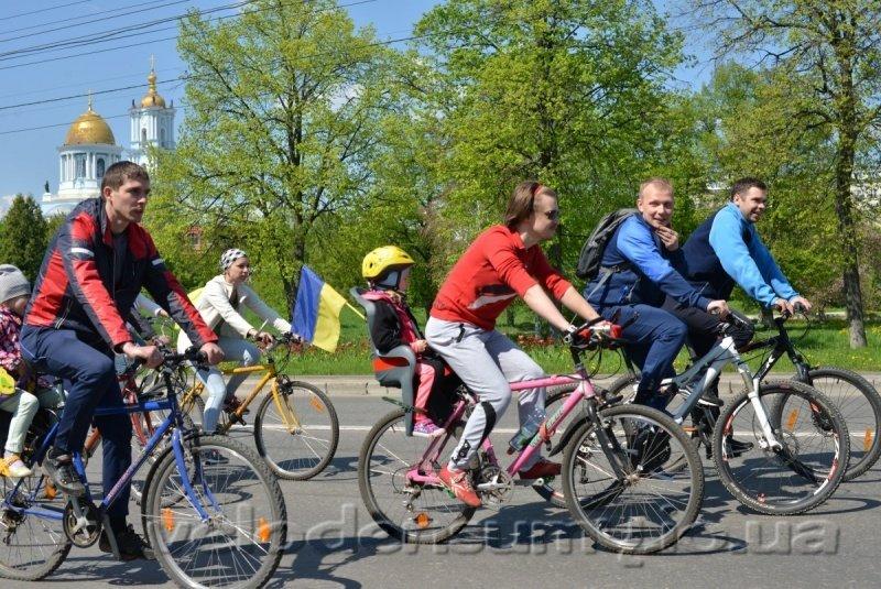 В Сумах состоялся велопробег (ФОТО), фото-5