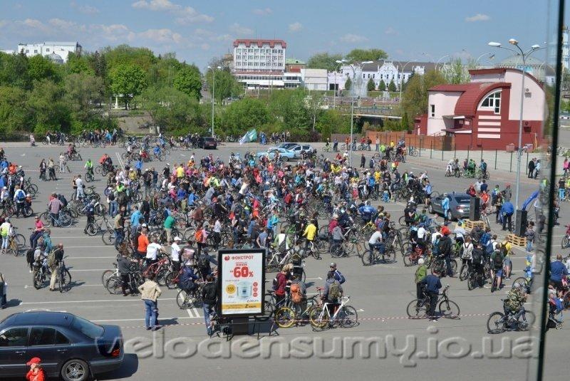 В Сумах состоялся велопробег (ФОТО), фото-2