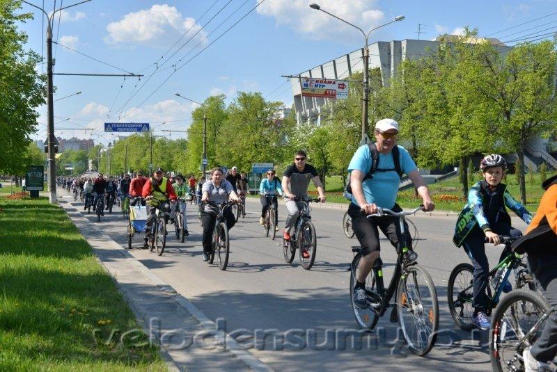 В Сумах состоялся велопробег (ФОТО), фото-10