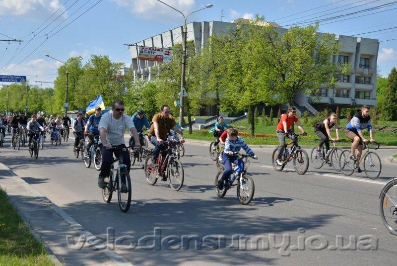 В Сумах состоялся велопробег (ФОТО), фото-8