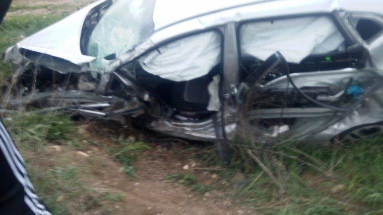 Видео: в Бахчисарайском районе один человек погиб и 4 ранены в ДТП, фото-1