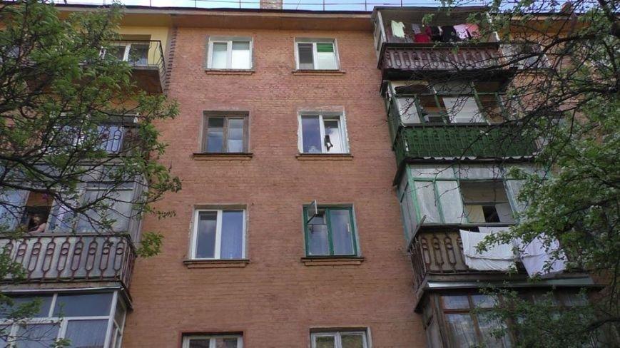 Черниговские эмчеэсники спасли кота, застрявшего в окне, фото-1