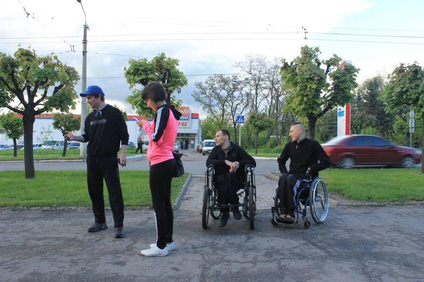 В Краматорске состоялись гонки на инвалидных колясках, фото-2