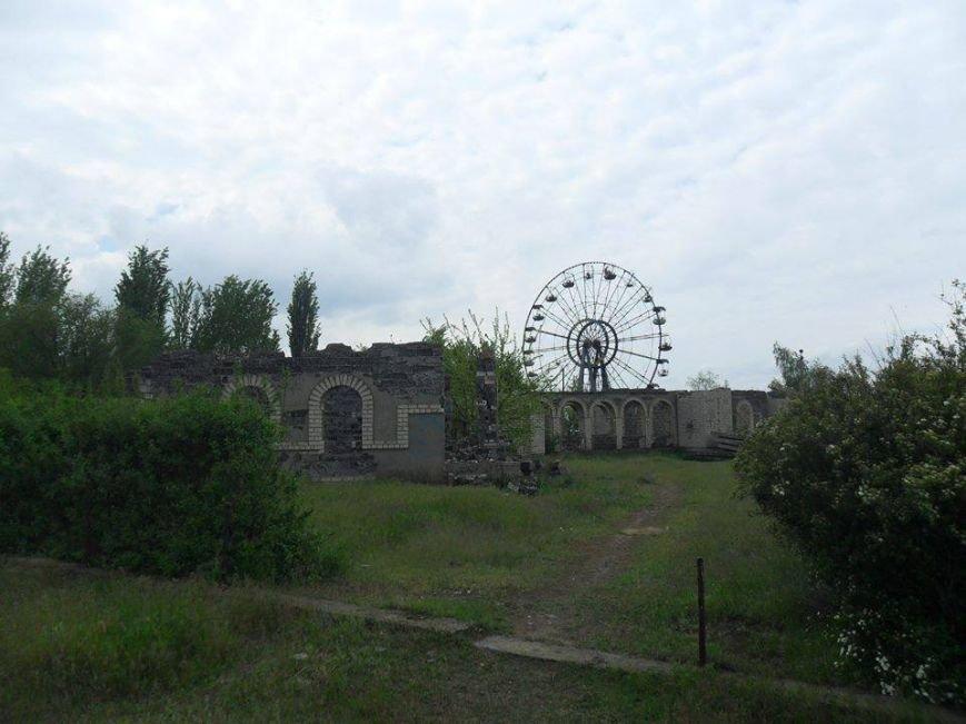 Каховские депутаты рассматривают вопрос по восстановлению парка с аттракционами, фото-2
