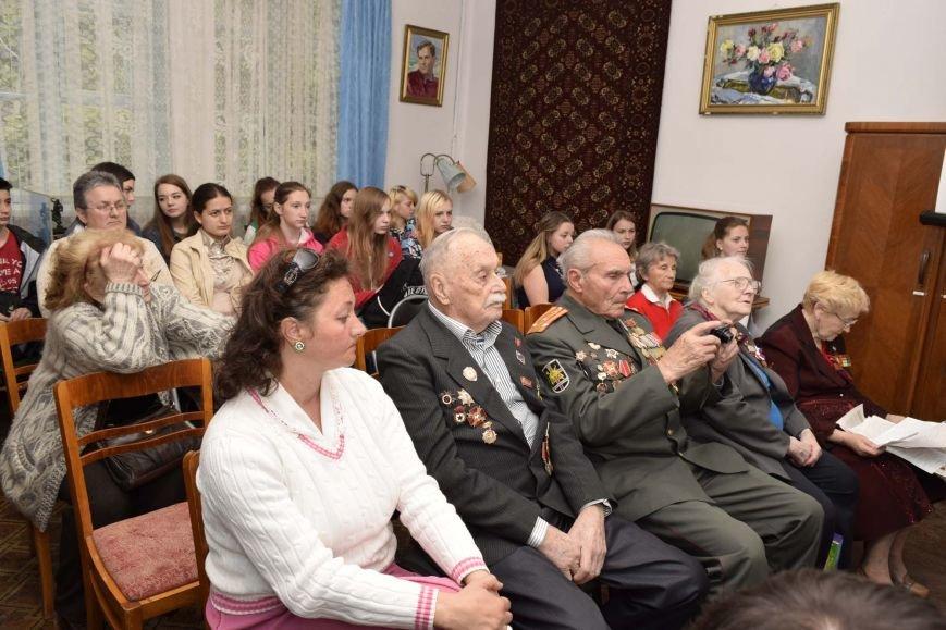 В Ялте прошло мероприятие «Вьется в тесной печурке огонь», посвященное 71-й годовщине Победы, фото-2