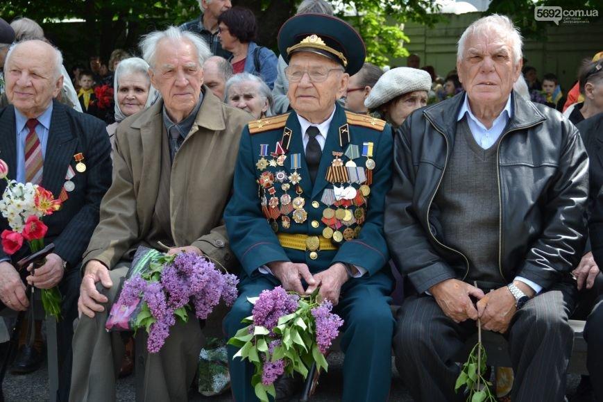 В Днепродзержинске прошел митинг по случаю 71-й годовщины Победы над нацизмом в Европе, фото-1