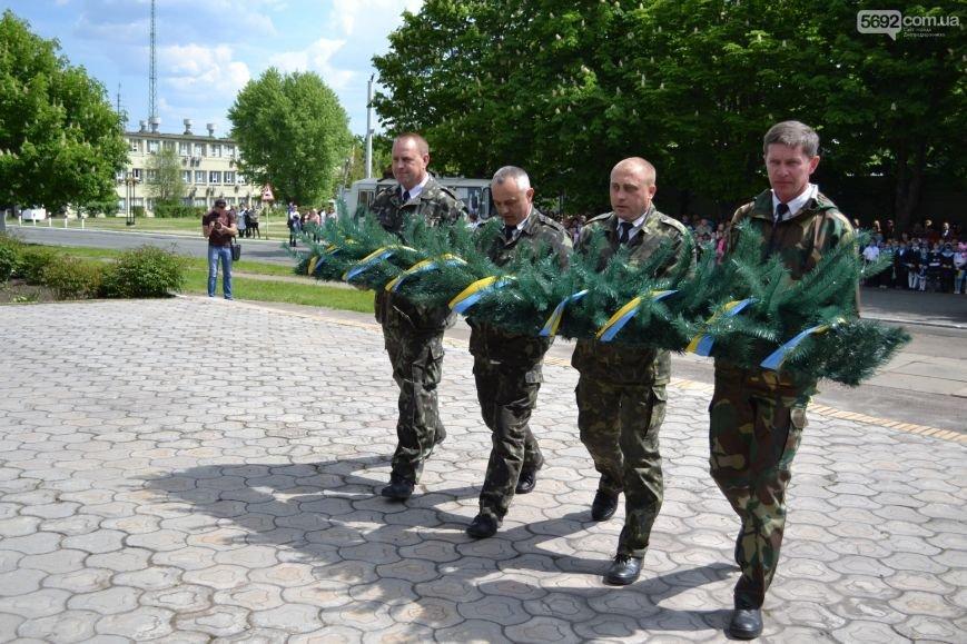 В Днепродзержинске прошел митинг по случаю 71-й годовщины Победы над нацизмом в Европе, фото-3