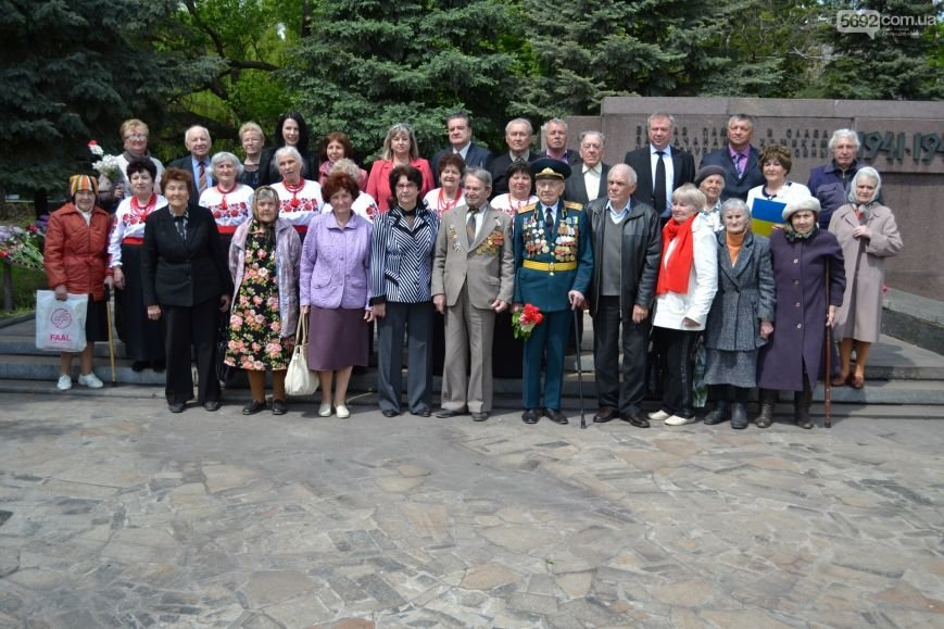 В Днепродзержинске прошел митинг по случаю 71-й годовщины Победы над нацизмом в Европе, фото-10