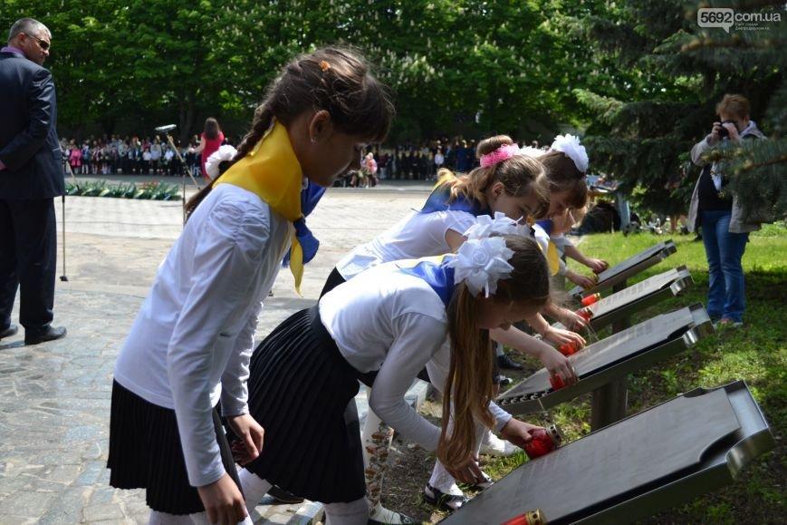 В Днепродзержинске прошел митинг по случаю 71-й годовщины Победы над нацизмом в Европе, фото-4