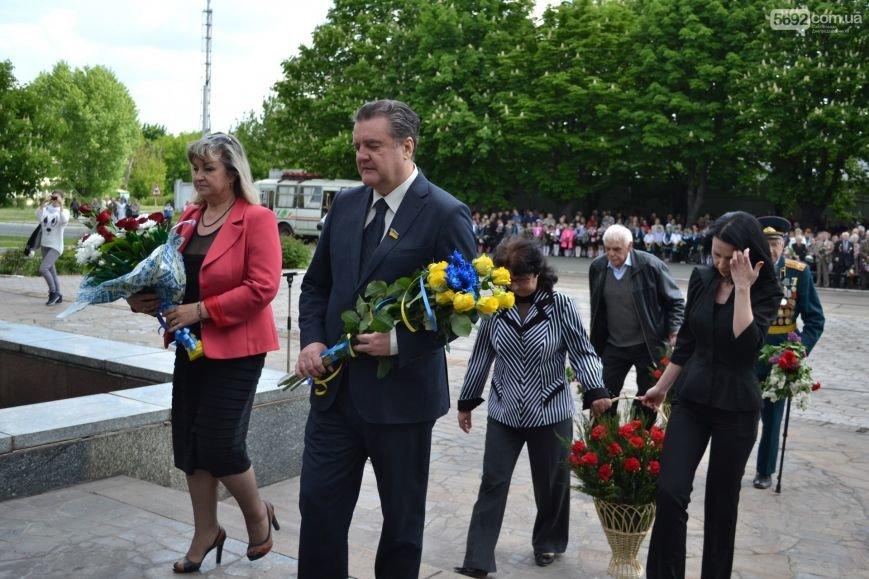 В Днепродзержинске прошел митинг по случаю 71-й годовщины Победы над нацизмом в Европе, фото-5