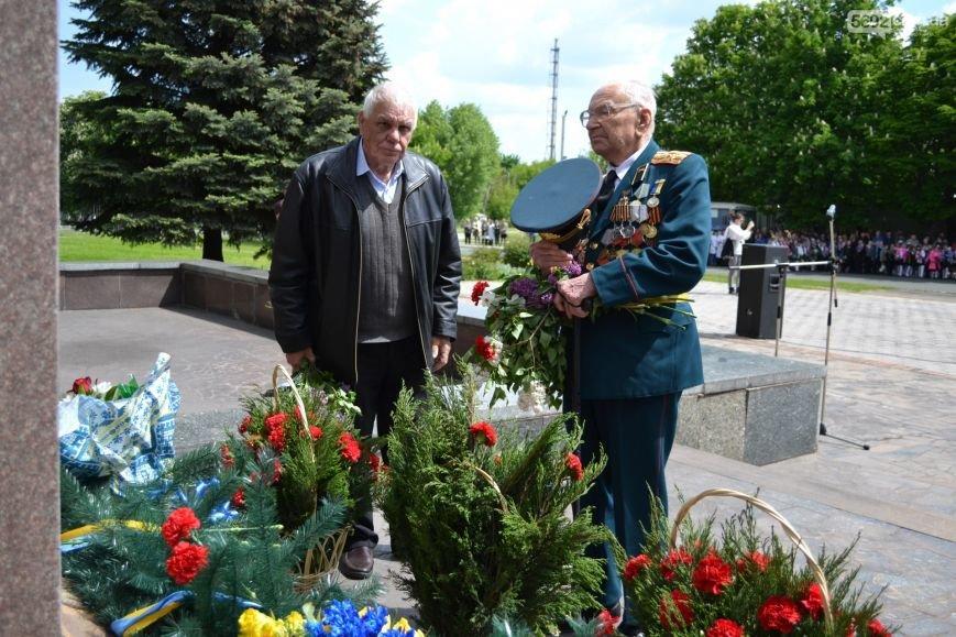 В Днепродзержинске прошел митинг по случаю 71-й годовщины Победы над нацизмом в Европе, фото-6