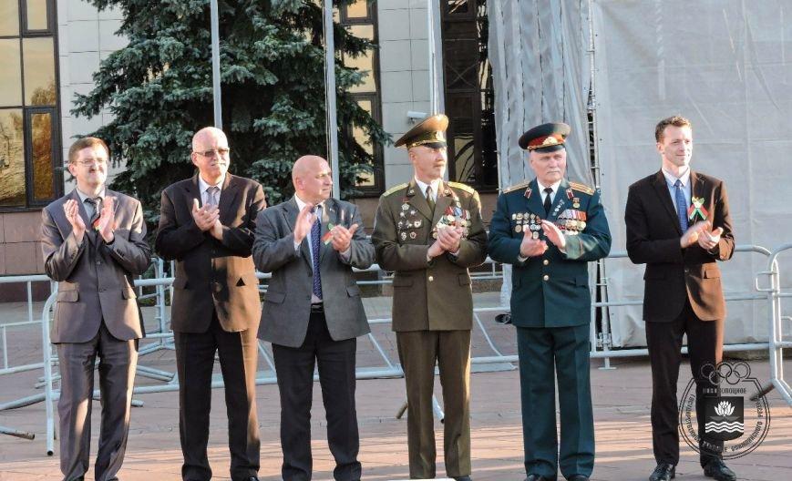 В Новополоцке прошла легкоатлетическая эстафета, посвященная Дню Победы, фото-1